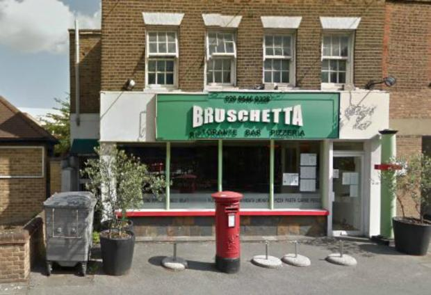 Bruschetta in London Road, Kingston