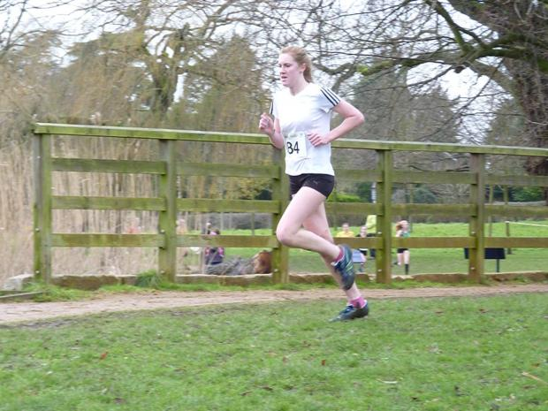 Pushing hard: Stevie Lawrence of Croydon Harriers