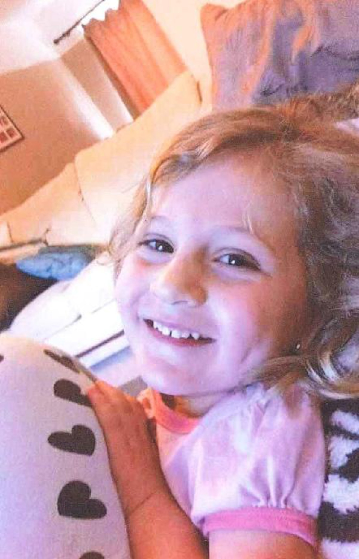 Freya's mum Carly described her as a happy, playful little girl