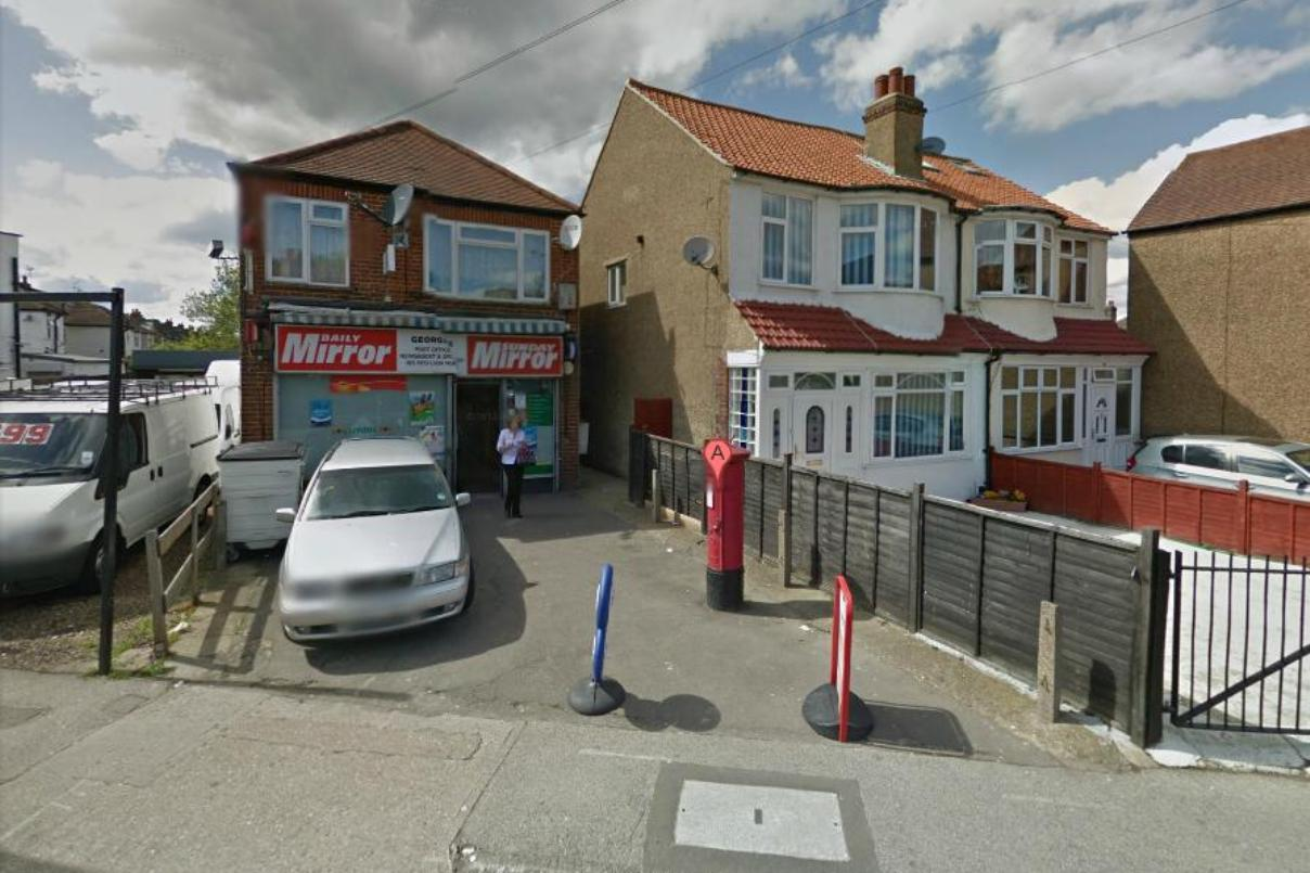 No booze: Tolworth newsagent in Red Lion Road. Image: Google Street