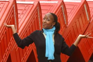 Mum about town with Angellica Bell: Bursting with excitement for Christmas