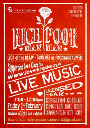 Rich Man Poor Man takes place at Kingston College on Love Kingston Day