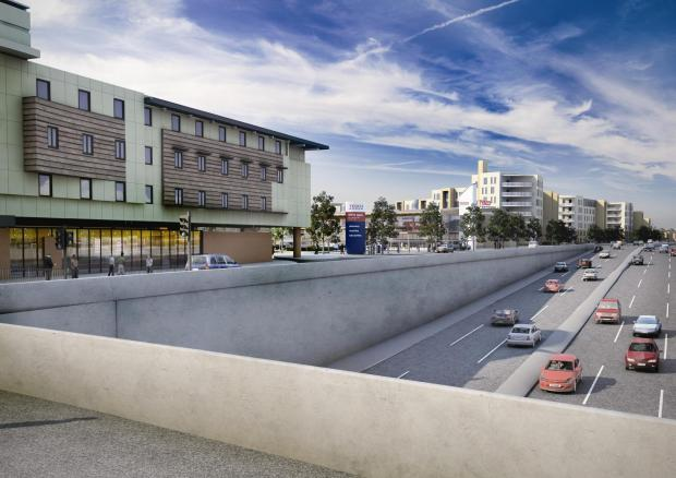 Scrapped: Tesco's plans for Tolworth