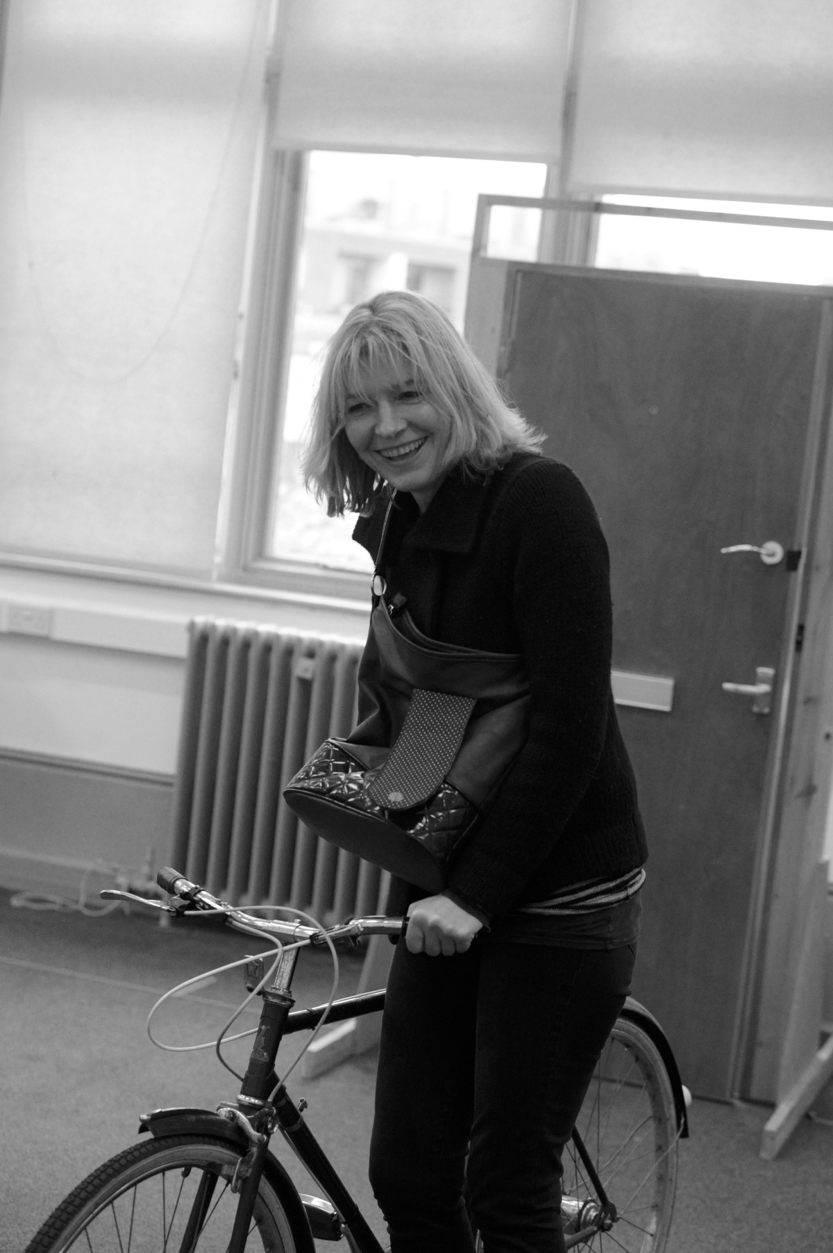 Jemma Redgrave during rehearsals for Donkeys' Y