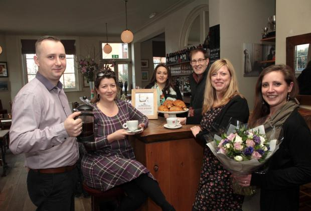 Surrey Comet: Canbury Arms pub gets ready for coffee morning in aid of Love Kingston