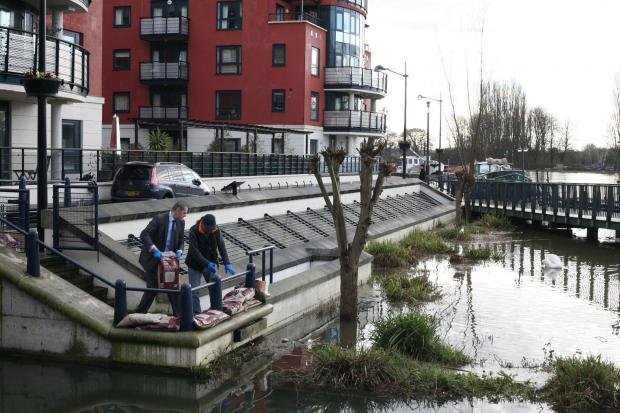 Surrey Comet: Floods: Thousands of homes at high risk