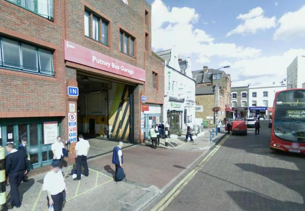 Putney bus garage (Picture: Google)