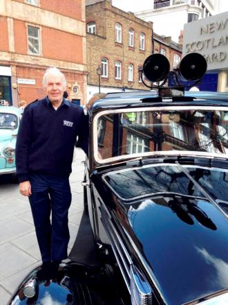 Unsung hero: Former traffic cop who restores the Met's old cars