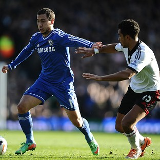 Eden Hazard, left, was Chelsea's