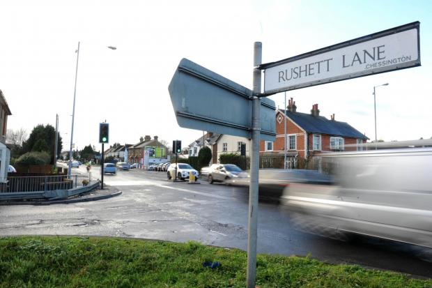 Malden Rushett crossroads: a new traffic hub? (File photo)