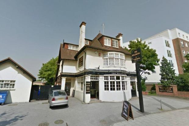 To go? The Duke of Wellington pub (Image: Google)