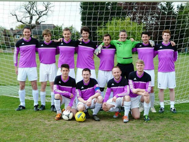 Going places: The Old Tiffinians third XI