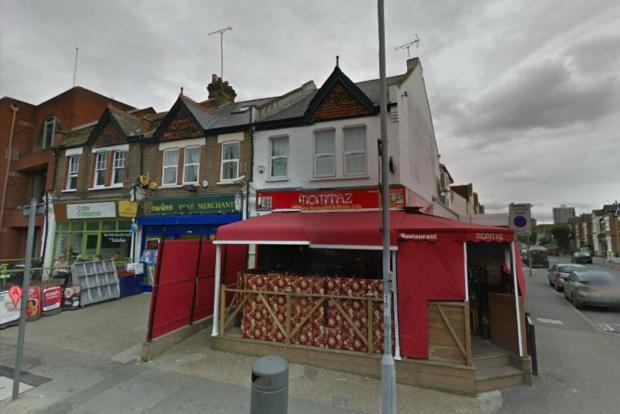 The restaurant in Coombe Road. (Image: Google)