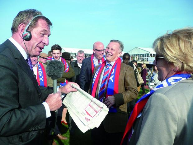 Surrey Comet: Die hard Crystal Palace supporter Steve Preston is Sire De Grugy's owner