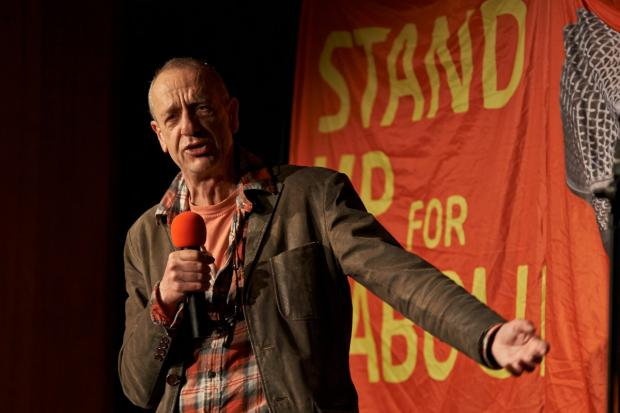 Arthur Smith will compere the Stand up for Labour night in Kingston