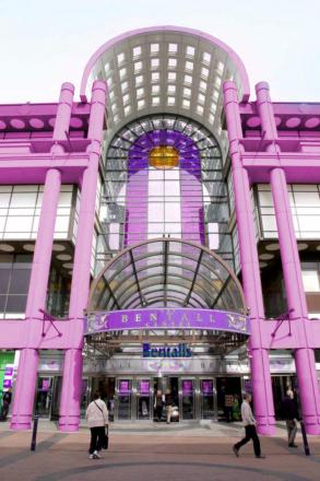 Would you be more or less likely to shop at a pink Bentall Centre?