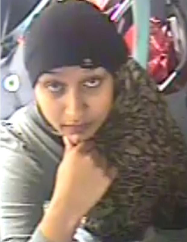 Surrey Comet: Police have issued this CCTV picture of Madona Hamzie as part of their appeal