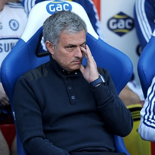 Jose Mourinho is keeping his line-up under wraps