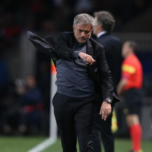 Surrey Comet: Chelsea manager Jose Mourinho was far from impressed by his side's showing as they lost to Paris St Germain