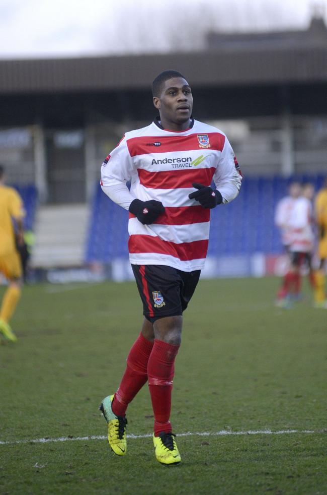 Back on song: Andre McCollin ended a mini goal-drought with a double at Cray Wanderers