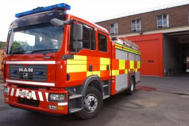 Firefighters called to Chessington gas cylinder blaze