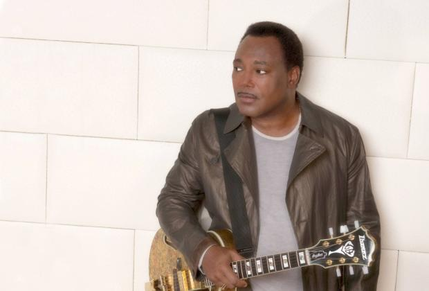 Too cool: George Benson looking forward to London