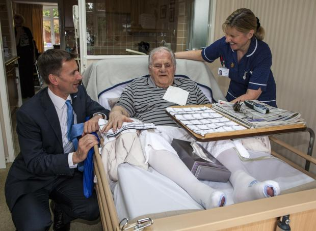 Jeremy Hunt praises social enterprise Your Healthcare during impromptu visit