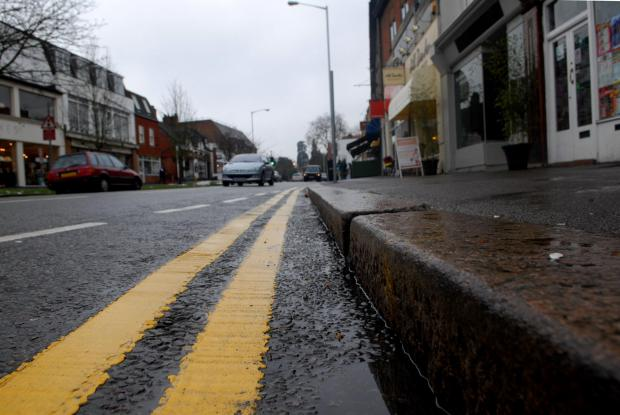 Surrey Comet: Fines: double yellows