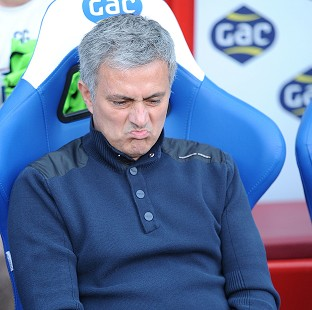 Jose Mourinho may have to play a weakened side against Liverpool on Sunday