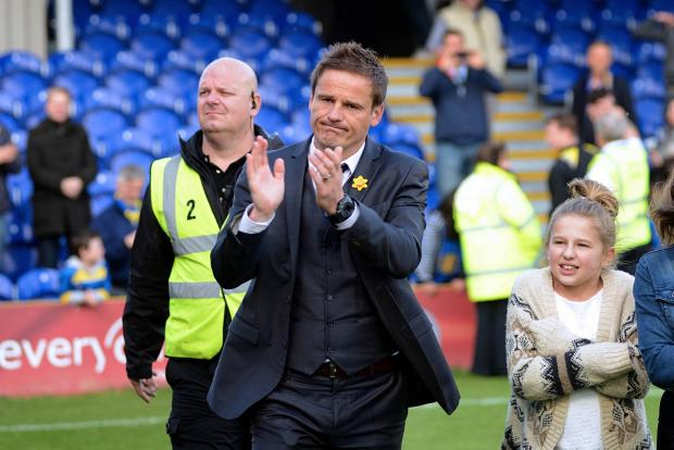 The camera never lies: A disappointed Neal Ardley thanks the Dons fans           SP81984