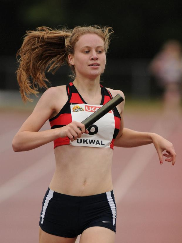 Surrey Comet: Silver medalist: Katie Snowden won silver in the 800m at the British Universities & Colleges Sport Athletics Championships last weekend