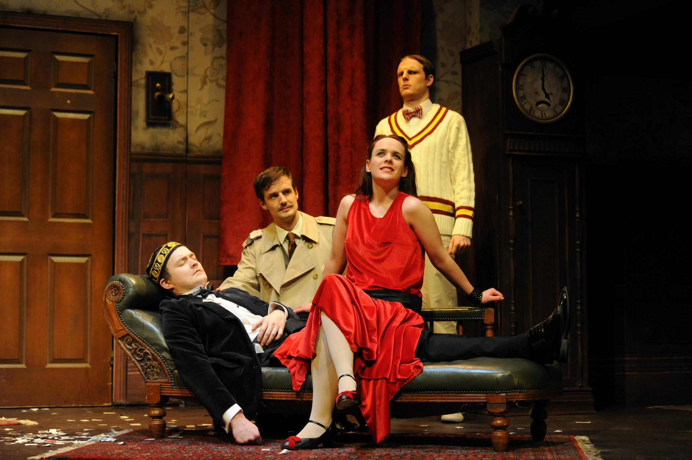 Review: The Play That Goes Wrong at the Rose Theatre