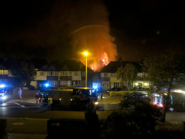 Surrey Comet: Fatal fire: Gibson Court on the night