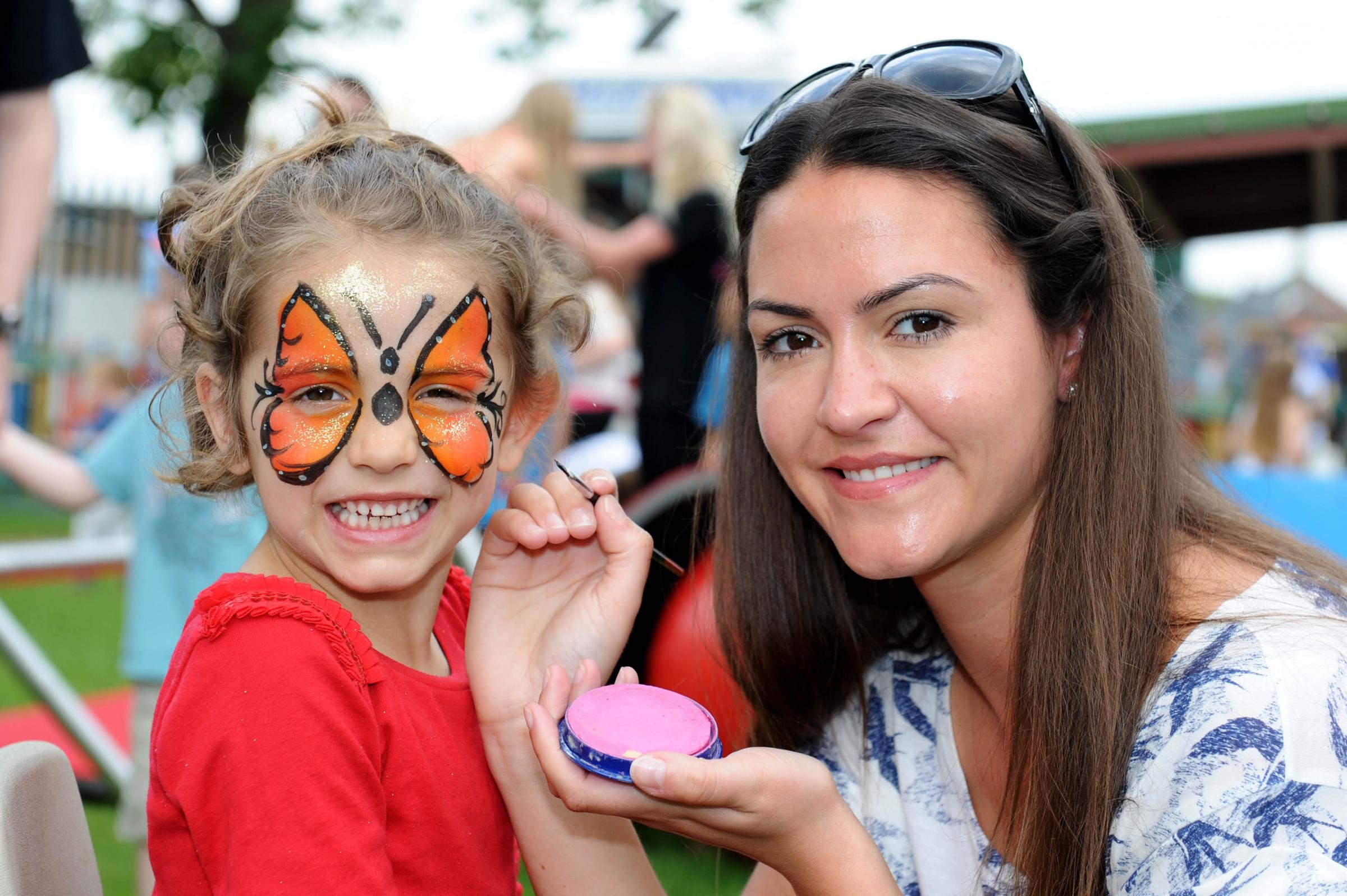 Circus skills for New Malden school's May Fair