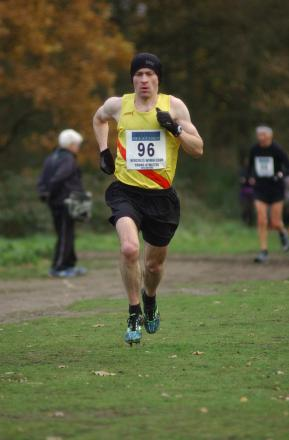 Croydon Harrier: Kieran White in action