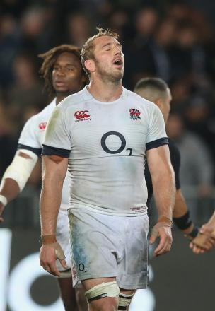 Respect: England captain Chris Robshaw rarely gets on the wrong side of a referee