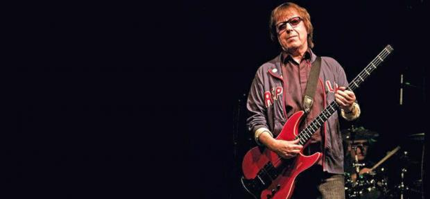 No moss: Bill Wyman is back with a brand new sound
