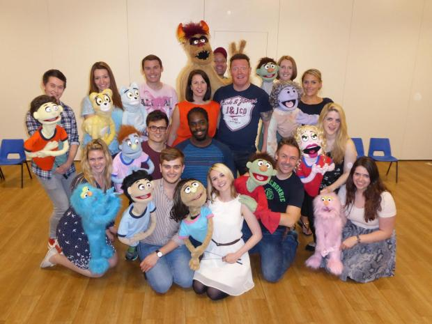 The Cygnet Players' Avenue Q cast