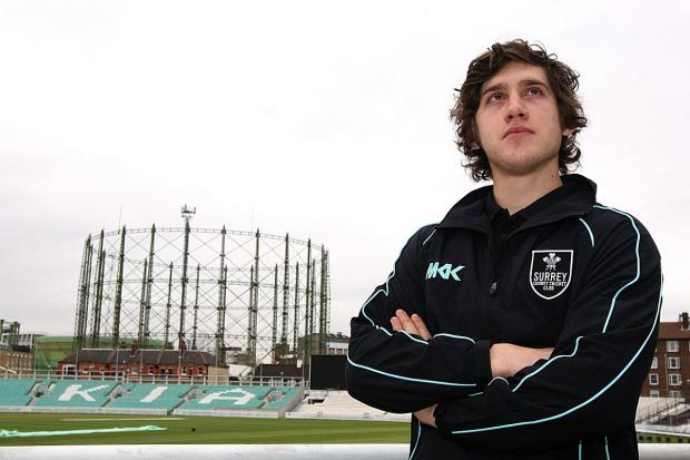 Sky is the limit: Zafar Ansari is now part of the Surrey first team furniture at the Oval