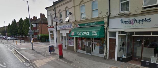 Post office in Park Road. Image: Google Street View