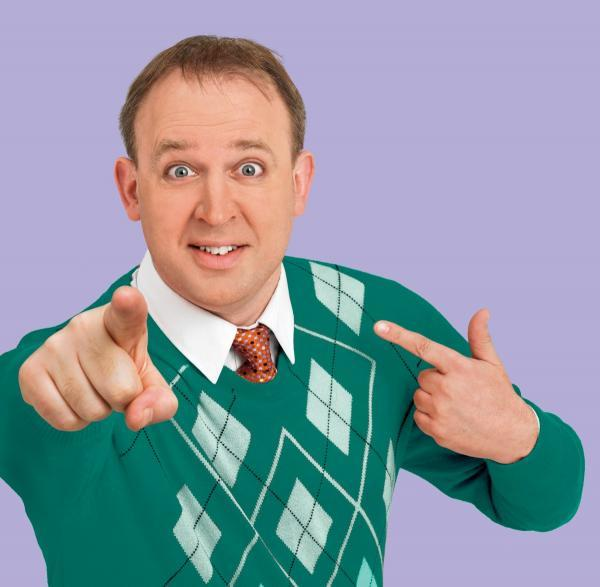 Tim Vine will appear three times for the Outside The Box festival