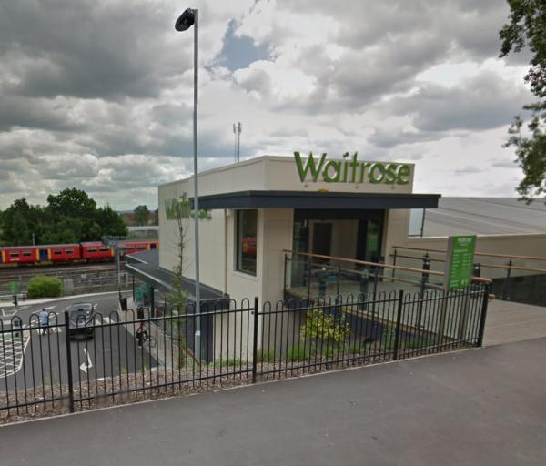 Police were called to Waitrose in Alexandra Road following reports of a fight on Friday