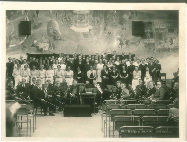 Humble beginnings: Kingston Orpheus Choir in the 1940s