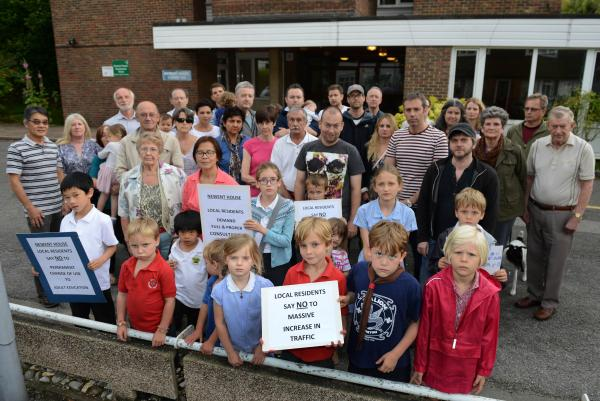 Browns Road residents unite against adult education classes in their road