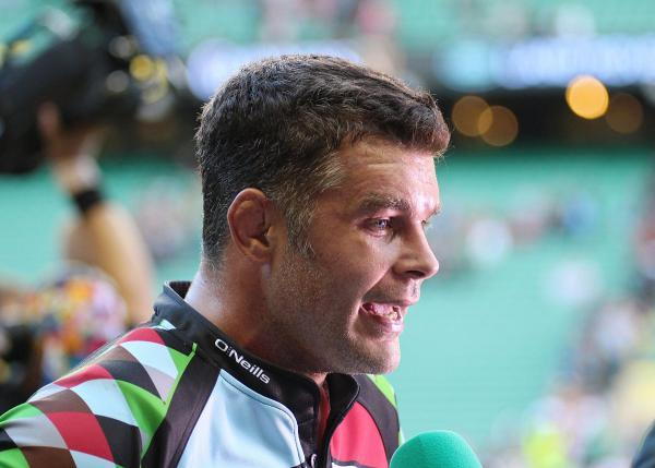 New man: Harlequins Nick Easter is the new head coach of Wimbledon RFC
