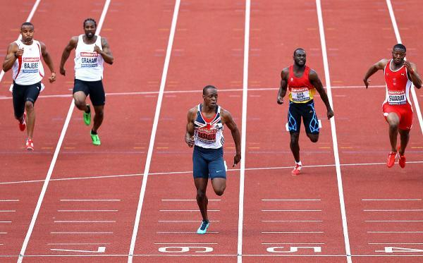 Off to the Euros: Croydon Harriers James Dasaolu has been given the final slot in the British sprint team ahead of the European Championships next month