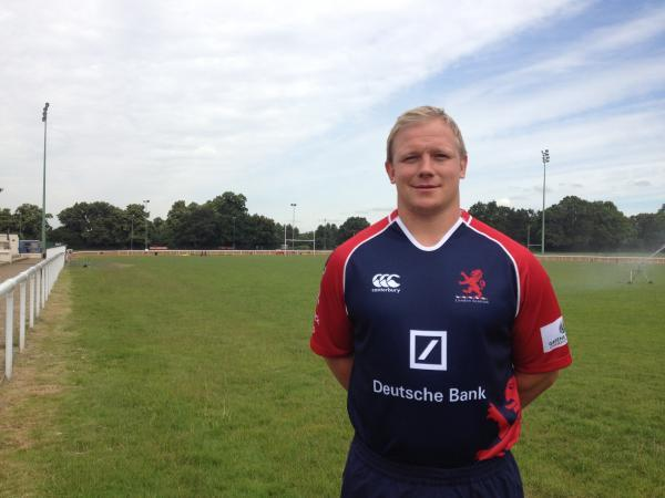 Committed: Adam Kwasnicki has signed on at London Scottish for another year