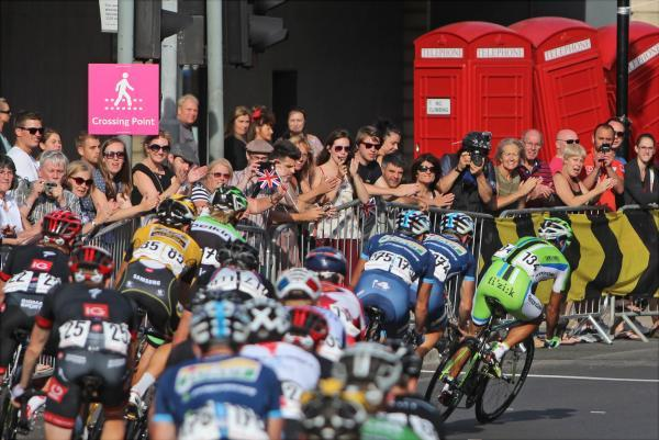 Prudential RideLondon passing through Kingston last year