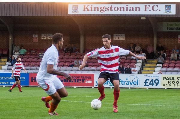 On fire: Ks midfielder Tommy Kavanagh has scored two goals in his past two games