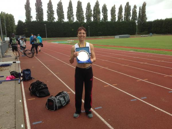 Winner: Lisa Harris of Croydon Harriers